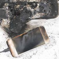 products liability because burned-down power supply